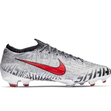 Nike Neymar Vapor 12 Elite FG Soccer Cleats (White/Challenge Red/Black)