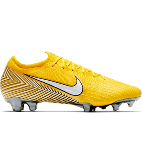 Nike Neymar Vapor 12 Elite FG Soccer Cleats (Amarillo/White/Dynamic Yellow/Black)