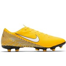 Nike Neymar Vapor 12 Academy MG Soccer Cleats (Amarillo/White/Black)