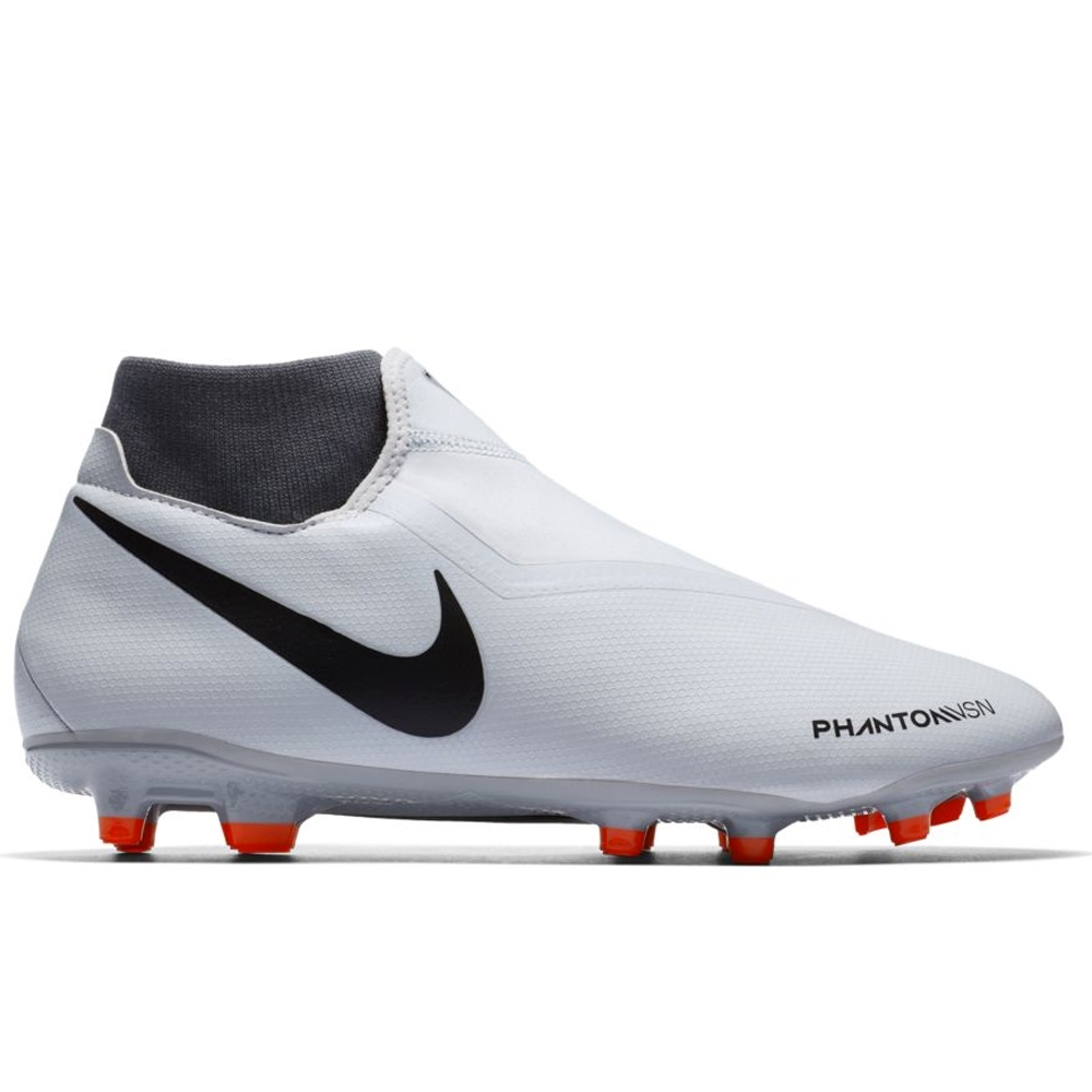 d18358188 Nike Phantom Vision Academy DF FG/MG Soccer Cleats (Pure Platinum ...