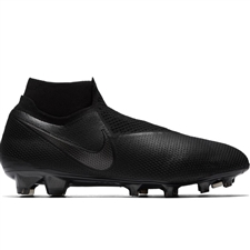 Nike Phantom Vision Elite DF FG Soccer Cleats (Black)
