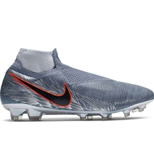 Nike Phantom Vision Elite DF FG Soccer Cleats (Armory Blue/Black/Hyper Crimson)