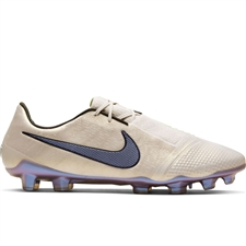 Nike Phantom Venom Elite FG Soccer Cleats (Desert Sand/Psychic Purple/Black)