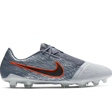 Nike Phantom Venom Elite FG Soccer Cleats (Wolf Grey/Black/Armory Blue)