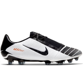 Nike Phantom Venom Elite FG Soccer Cleats (White/Black/Chile Red)