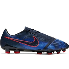 Nike Phantom Venom Elite FG Soccer Cleats (Obsidian/White/Black/Racer Blue)