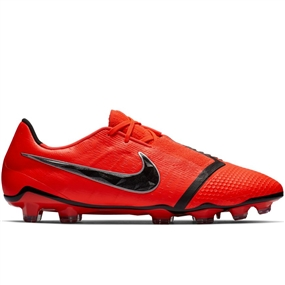 Nike Phantom Venom Elite FG Soccer Cleats (Bright Crimson/Black)