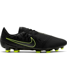 Nike Phantom Venom Pro FG Soccer Cleats (Black/Volt)