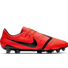 Nike Phantom Venom Pro FG Soccer Cleats (Bright Crimson/Black)