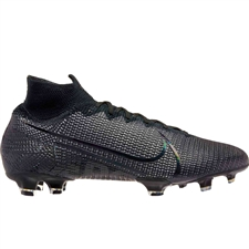 Nike Superfly 7 Elite FG Soccer Cleats (Black/Dark Grey)