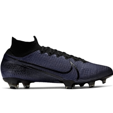 Nike Mercurial Superfly 7 Elite FG Soccer Cleats (Black)