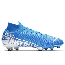 Nike Superfly 7 Elite FG Soccer Cleats (Blue Hero/White/Volt/Obsidian)