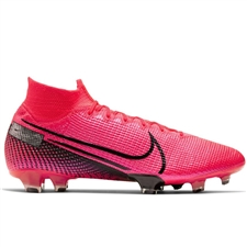 Nike Mercurial Superfly 7 Elite FG Soccer Cleats (Laser Crimson/Black)