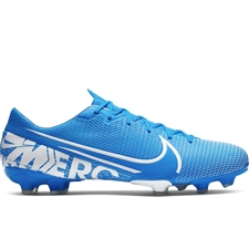 Nike Vapor 13 Academy MG Soccer Cleats (Blue Hero/White/Obsidian)