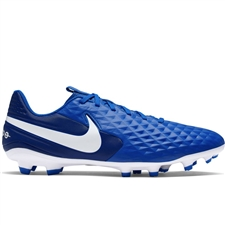 Nike Legend 8 Academy MG Soccer Cleats (Hyper Royal/White/Deep Royal Blue)
