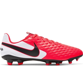 Nike Tiempo Legend 8 Academy MG Soccer Cleats (Laser Crimson/Black/White)