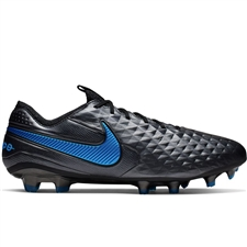 Nike Legend 8 Elite FG Soccer Cleats (Black/Blue Hero)