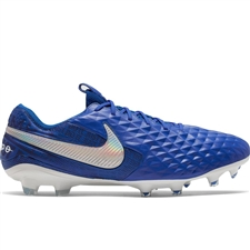 Nike Legend 8 Elite FG Soccer Cleats (Hyper Royal/White/Deep Royal Blue)