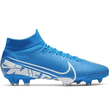 Nike Superfly 7 Pro FG Soccer Cleats (Blue Hero/White/Obsidian)