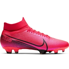 Nike Mercurial Superfly 7 Pro FG Soccer Cleats (Laser Crimson/Black)