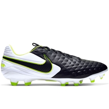 Nike Legend 8 Pro FG Soccer Cleats (Black/White)