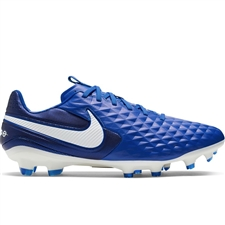 Nike Legend 8 Pro FG Soccer Cleats (Hyper Royal/White/Deep Royal Blue)