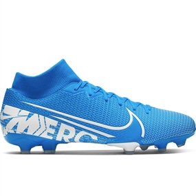 Nike Superfly 7 Academy MG Soccer Cleats (Blue Hero/White/Obsidian)