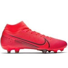 Nike Mercurial Superfly 7 Academy MG Soccer Cleats (Laser Crimson/Black)