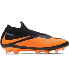 Nike Phantom Vision 2 Elite DF FG Soccer Cleats (Black/Bright Citrus)