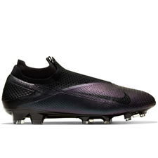 Nike Phantom Vision 2 Elite DF FG Soccer Cleats (Black)