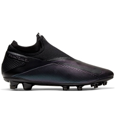 Nike Phantom Vision 2 Pro DF FG Soccer Cleats (Black)