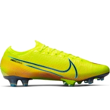 Nike Mercurial Vapor 13 Elite MDS FG Soccer Cleats (Lemon Venom/Black/Aurora Green)