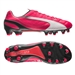 Puma evoSPEED 1.3 Leather FG Soccer Cleats (Bright Plasma/White/Peacoat)