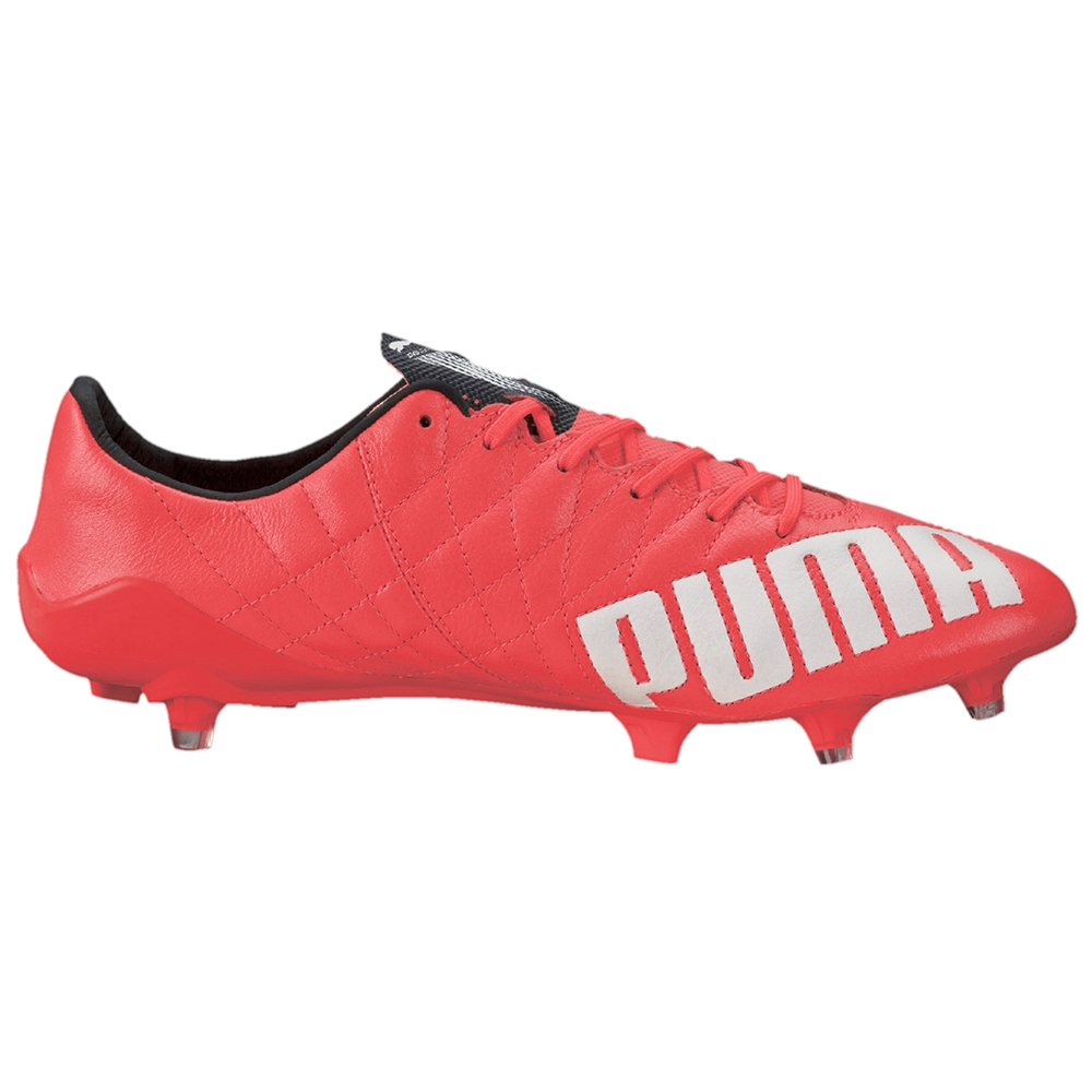 096437502 $206.99 - Puma evoSPEED SL (Leather) FG Soccer Cleats (Lava Blast ...