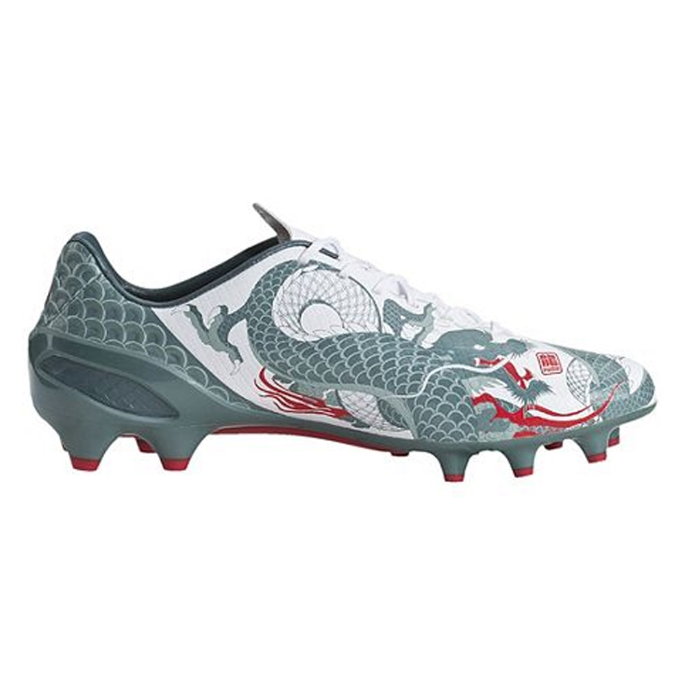 SALE  128.95 - Puma evoSPEED 1.3 Graphic FG Soccer Cleats (White Sea ... 93138b125