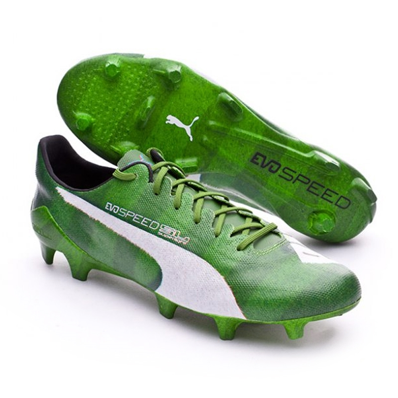 1d8bc0c8cf8 evoSPEED SL Grass FG Soccer Cleats (Jasmine Green White Black ...