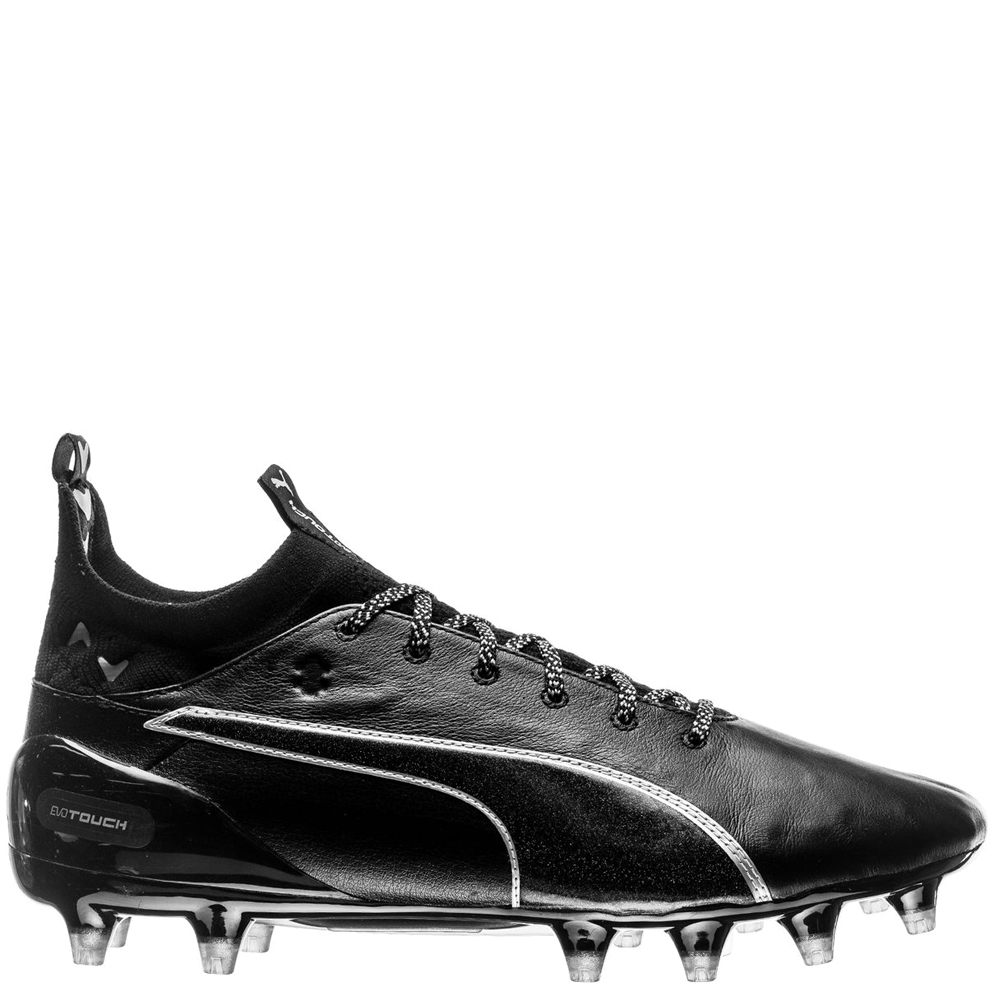 all black puma cleats