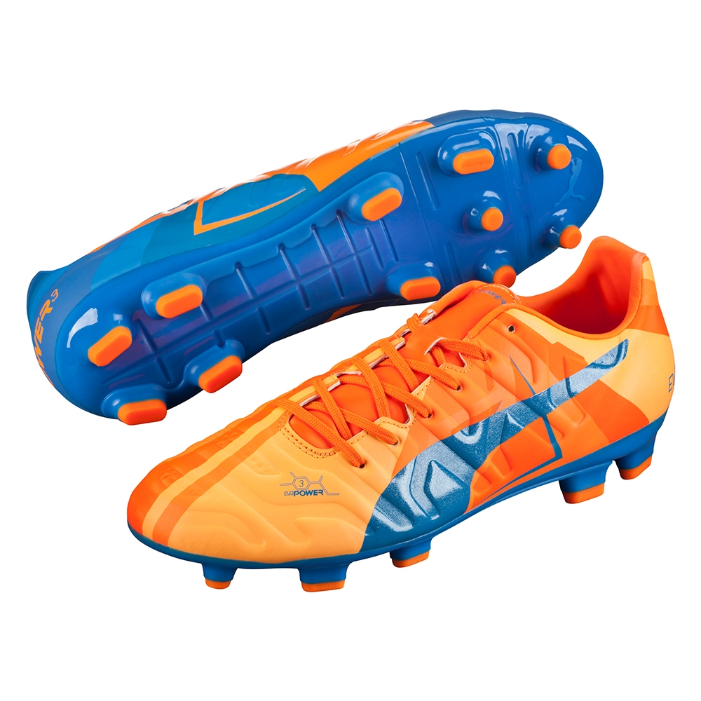 18347c1e059a  67.49 - Puma evoPOWER 3.2 FG Soccer Cleats (Orange Clownfish ...