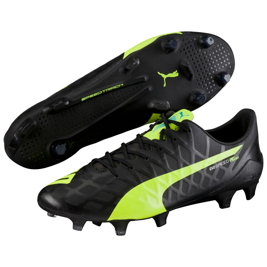 all black puma evospeed