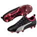Puma evoPOWER Vigor 1 FG Soccer Cleats (Black/Silver/Quiet Shade/Bright Plasma)