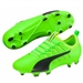 Puma evoPOWER Vigor 2 FG Soccer Cleats (Green Gecko/Black/Safety Yellow)