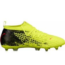 Puma Future 18.2 Netfit FG (Fizzy Yellow/Red Blast/Puma Black)