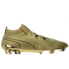 Puma One Gold FG Soccer Cleats (Gold)