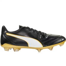 Puma Capitano II FG (Black/White/Gold)