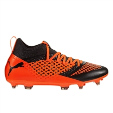 Puma Future 2.3 Netfit FG/AG (Black/Shocking Orange)