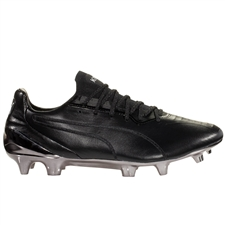Puma King Platinum FG/AG Soccer Cleats (Puma Black/Puma White)