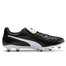 Puma King Top FG Soccer Cleats (Puma Black/Puma White)