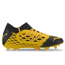 Puma FUTURE 5.3 NETFIT FG/AG Soccer Cleats (Ultra Yellow/Puma Black)