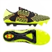 Under Armour Corespeed Force 2 FG Soccer Cleats (High Vis Yellow/Red/Black)