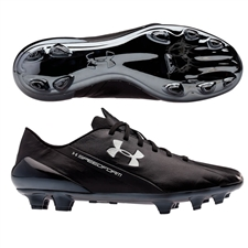 Under Armour Speedform CRM (Leather) FG Soccer Cleats (Black)